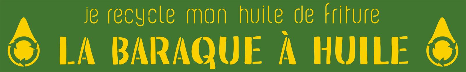 Logo de La Baraque à Huile, collecte des huiles alimentaires usagées