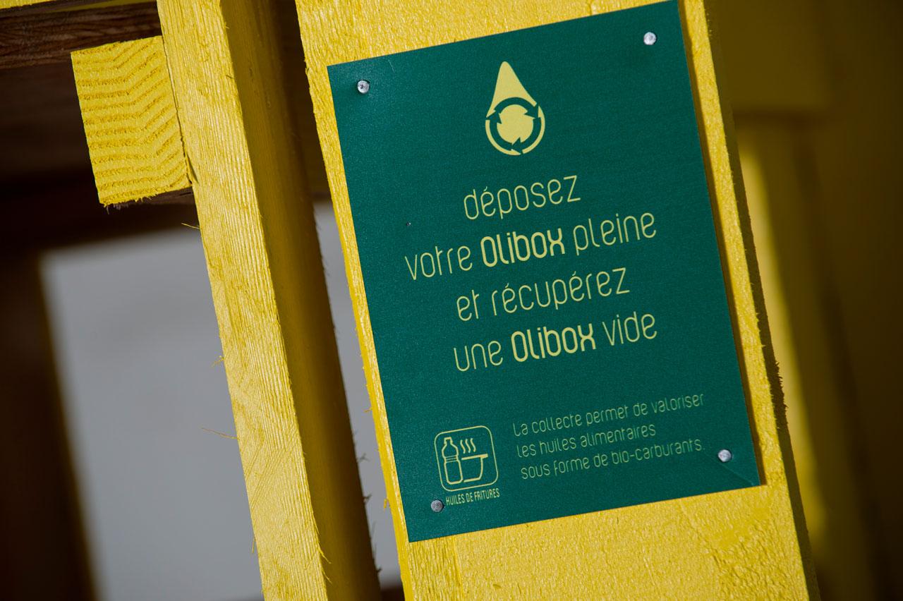La collecte des huiles usagées en déchetterie
