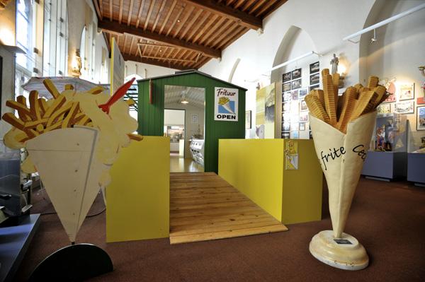 Saviez-vous qu'il existe un musée de la frite?