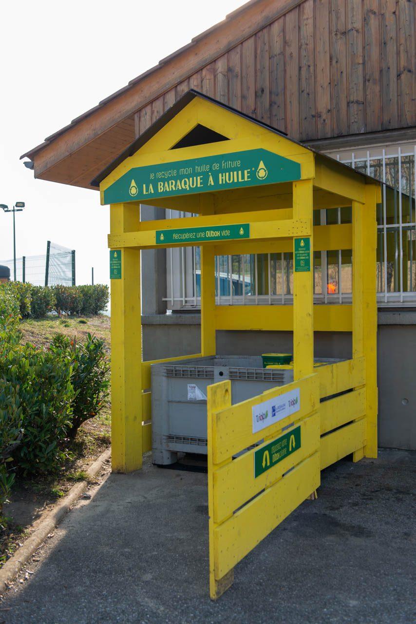 La Baraque a Huile recyclage des huiles usagées